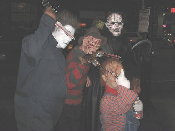 Freddy Vs Jason Vs Chucky Vs Michael Myers Vs Pinhead Gerard As Hlywd Freddy
